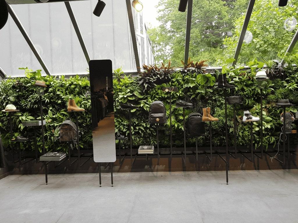 plantenwand binnen Amsterdam