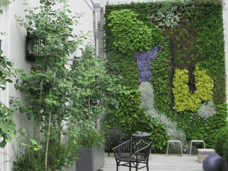 Verticaal groen Amsterdam