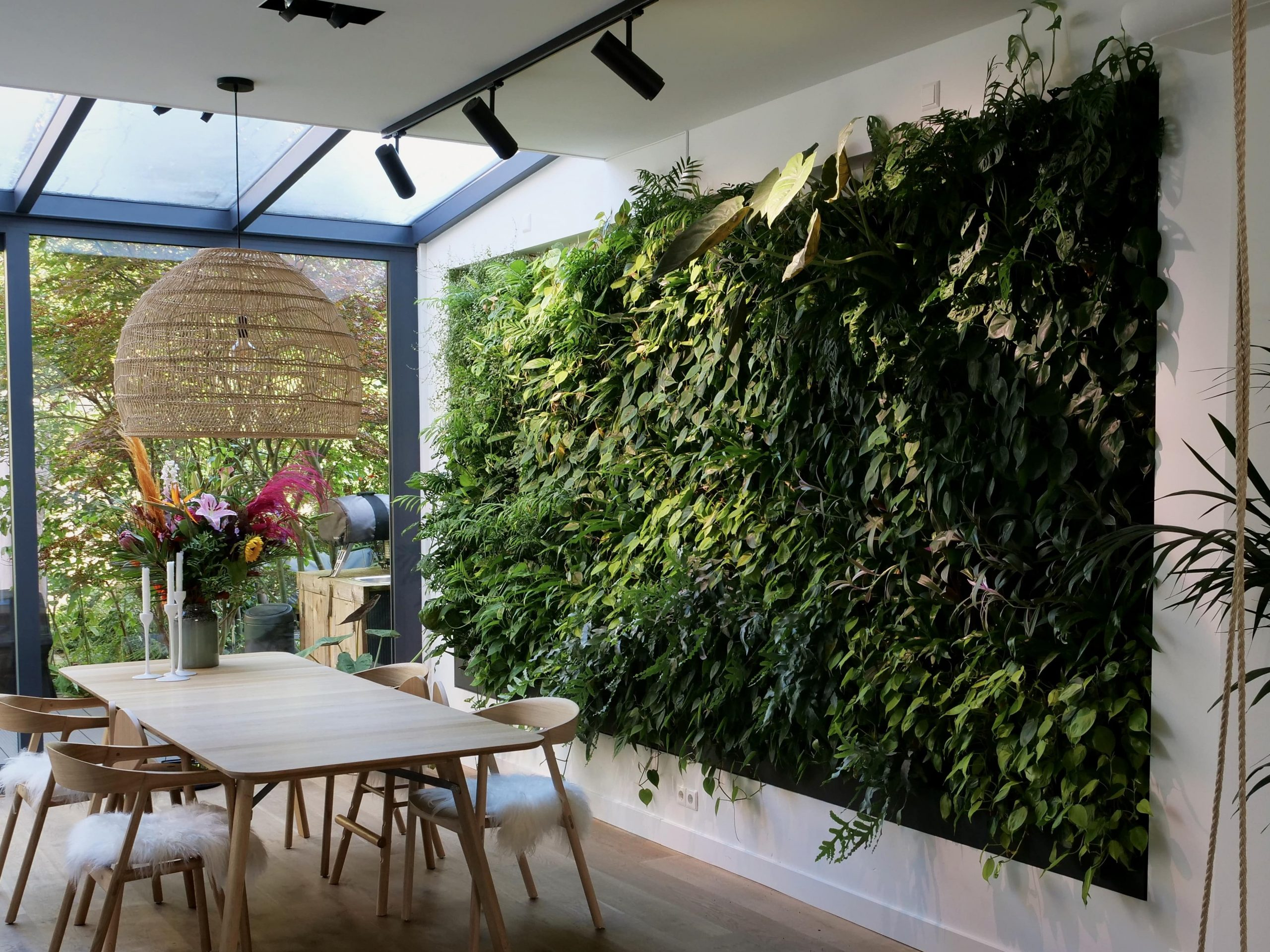 Levende plantenwand Amsterdam
