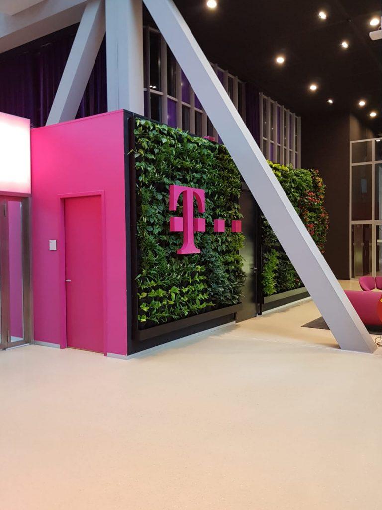 Verticale tuin T-Mobile